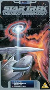 Star Trek The Next Generation - Vol. 3.1 - Evolution / The Ensigns of Command / The Survivors [VHS] [1990]