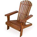 Sonnenstuhl-Adirondack-aus-Akazienholz-Liegestuhl-Holzstuhl-Deckchair