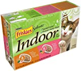 Friskies Selects Indoor Cat Food, Classic Pate 2-Flavor Variety Pack (Chicken & Salmon), 5.5-Ounce Cans (Pack of 24)