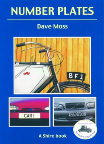 Number Plates (Shire Book)