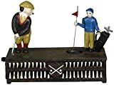 Design Toscano The Golfer: This Putt is for a Birdie Collectors' Die-Cast Iron Mechanical Co...