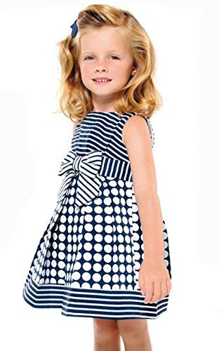 StylesILove Mixed Print Baby Kids Girl Dress (18-24 Months)