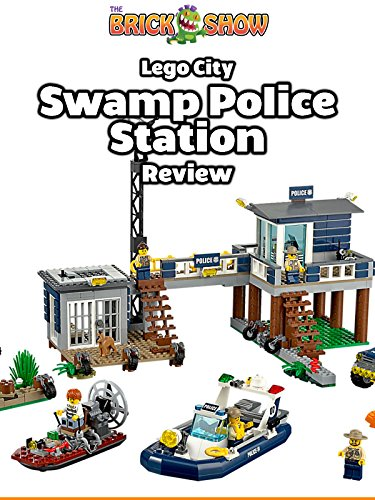 LEGO City Swamp Police Station Review LEGO 60069 + Airboat Ride!