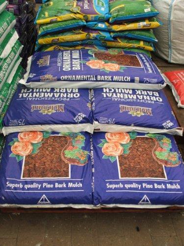 Melcourt Ornamental Bark Mulch 75ltr 21 Bag Pallet Deal