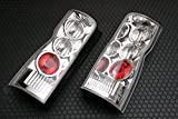 Tail lamp JDM for Nissan Caravan Urvan E25 2001-2012 Red and Clear Exterior