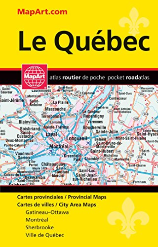 Quebec Province Pocket Map Atlas