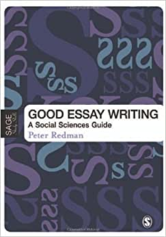 Good essay writing a social sciences guide free download