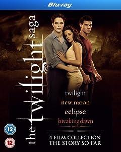 The Twilight Saga Quad Pack [Blu-ray]