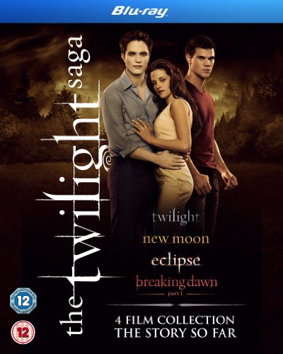 The Twilight Saga Collection - 4-Disc Box Set ( Twilight / The Twilight Saga: New Moon / The Twilight Saga: Eclipse / The Twilight Saga: Brea [ NON-USA FORMAT, Blu-Ray, Reg.B Import - United Kingdom ] (Twilight Blue Ray Box Set compare prices)