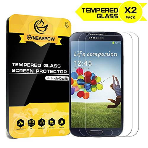 2-Pack-Samsung-Galaxy-S4-Screen-Protector-Nearpow-Tempered-Glass-Screen-Protector-with-9H-Hardness-Crystal-Clear-Easy-Bubble-Free-Installation-Scratch-Resist