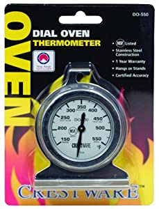 Crestware Dial Oven Thermometer by Crestware