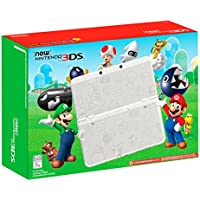 Nintendo 3DS Super Mario White Edition Gaming System