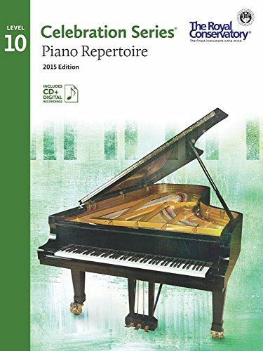 C5R10 - Royal Conservatory Celebration Series - Piano Repertoire Level 10 Book 2015 Edition PDF