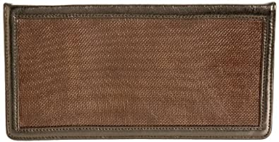 Dareen Hakim Le Palma Clutch,Pewter Copper,one size