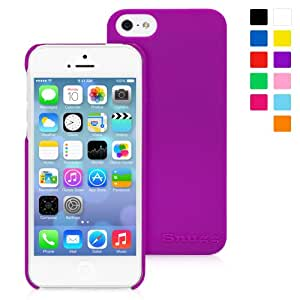 Snugg iPhone 5 / 5S Case - Ultra Thin Case with Lifetime Guarantee (Purple) for Apple iPhone 5 / 5S