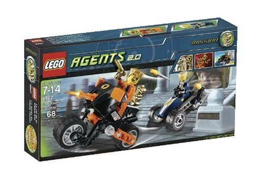 Lego Agents 8967: Gold Tooths Getaway
