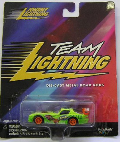 Johnny Lightning Team Lightning Crash Bandicoot car