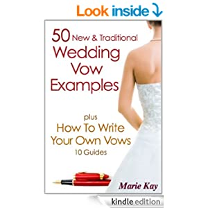 write your own vows examples From the moment our paths crossed, you've surprised me, distracted me,  captivated me, and challenged me  how to write your own personal wedding  vows.