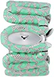 Roberto Cavalli Ladies Cleopatra Analogue Watch R7253195535 with Light Green Enamel Dial and Stainless Steel Case