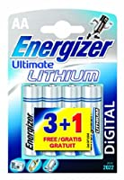 Energizer Ultimate Lithium Mignon 4er Pack von Energizer Batteries