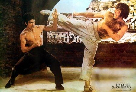 Bruce Lee VS Chuck Norris