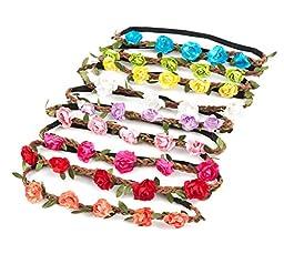 Ema Jane - Bohemian Rose Floral Headbands
