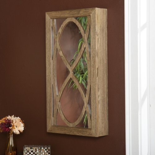 SEI Payne Wall Mount Jewelry Mirror