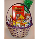 Reeses Easter Basket Fill with Reeses Peanut Butter Eggs and Bunnies by Reeses