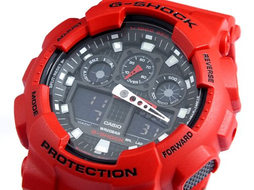 Casio CASIO G shock g-shock an analog-digital watch GA 100B-4 A parallel imported goods