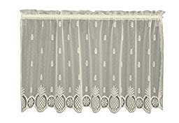 Heritage Lace Welcome Tier, 60 by 30-Inch, White by Heritage Lace