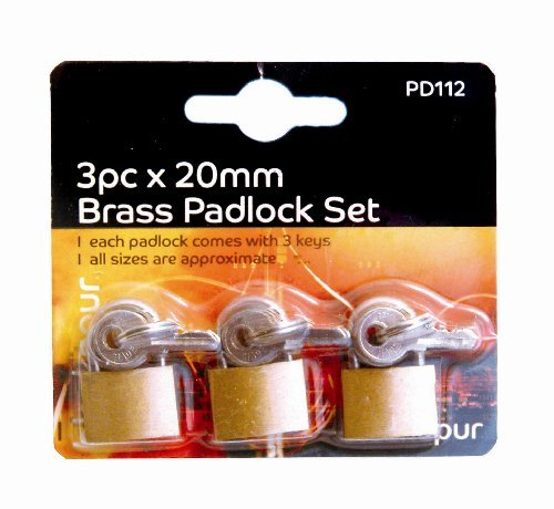 blackspur-bb-pd112-brass-padlock-set