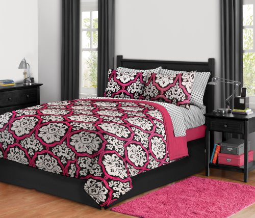 Damask Bed in a Bag, Full, Dotted