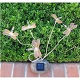 Decorative Garden Dragonflies Solar Lights