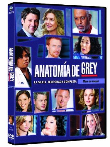 Anatomía de Grey - Temporada 6 [DVD]