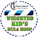 Kids Hula Hoop - Quality Weighted Children's Hula Hoops!(WB) Great For Exercise, Dance, Fitness & FUN! NO Instructions needed! SAME DAY DISPATCH!