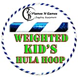 Kids Hula Hoop - Quality Weighted Children's Hula Hoops! (WB) Great For Exercise, Dance, Fitness & FUN! NO Instructions needed! SAME DAY DISPATCH!