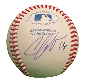 Chone Figgins Autographed Signed ROLB Baseball, Los Angeles Dodgers, Seattle...