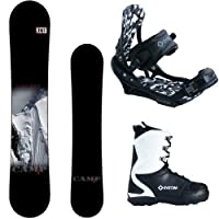 Camp Seven Valdez and APX Men's Snowboard Package 2015 from Camp Seven
