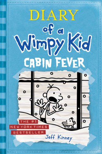 Cover of Cabin Fever (Diary of a Wimpy Kid, Book 6)