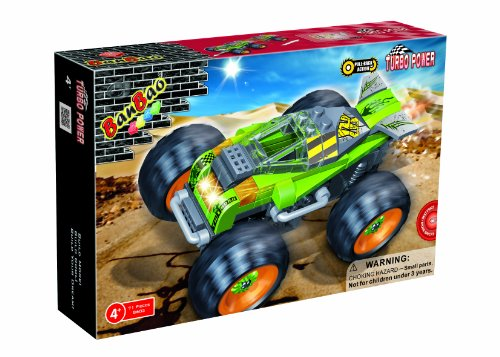 BanBao Thunder Toy Building Set, 71-Piece