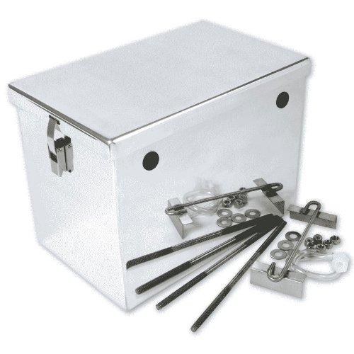 NOCO HM242 Polished Aluminum Group 24 High-Performance Battery Box
