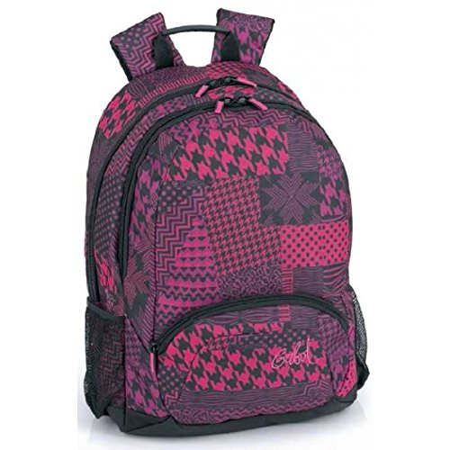 Mochila gabol honey escolar fucsia