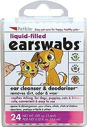 Petkin Pet Ear Swabs-24 Pack