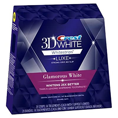 Crest 3d White Advanced Vivid Teeth Whitening Strips 14 Count