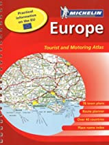 Michelin Atlas Europe, 12e (Atlas (Michelin))