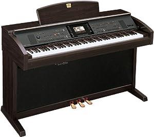 YAMAHA クラビノーバ 多機能型・電子ピアノ ダークローズウッド調 CVP-305