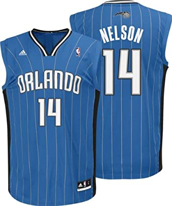 adidas Orlando Magic Jameer Nelson Youth (Sizes 8-20) Revolution 30 Replica Road... by adidas