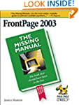 FrontPage 2003: The Missing Manual (M...