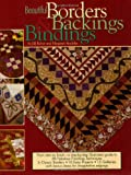 img - for Beautiful Borders, Backings and Bindings: A Quilters Guide to Fabulous Finishing Techniques book / textbook / text book