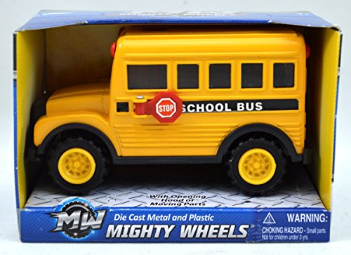 Mighty Wheels School Bus Play Vehicle - 1